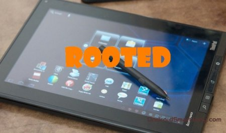Root-права на планшет Lenovo ThinkPad Tablet
