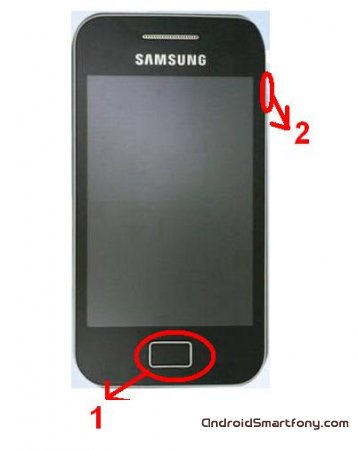 Как сделать hard reset Samsung Galaxy Ace 2?