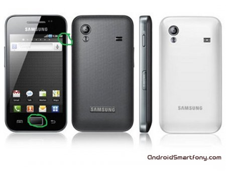 ��� ��������� ������ ����� ������ (hard-reset) �� Samsung Galaxy Ace GT-S5830 � GT-S5830i