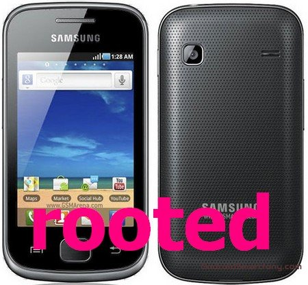 ��� �������� root ����� �� Samsung Galaxy Gio GT-S5660