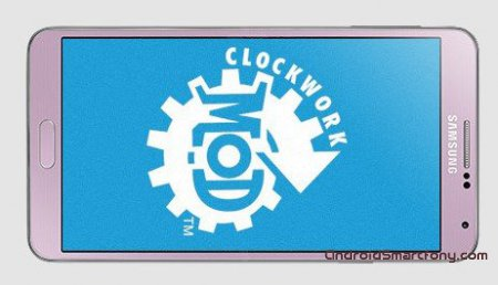 ���������� �� ��������� ClockworkMod Recovery �� Samsung Galaxy Note 3