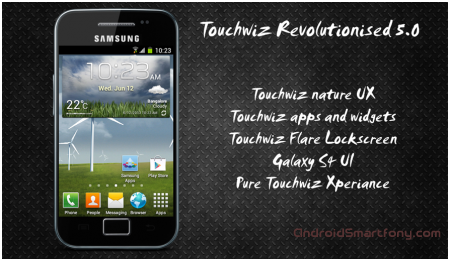 ��������� TouchWiz 5 Launcher �� Galaxy S4 �� ����� ���������� � Android 4.1