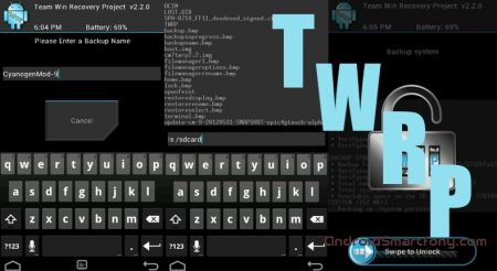 TWRP Recovery - ��� ����������, ��� ������ ��������� ����� �� android, ��������������� �������, ������������� ��������, ����� � ����