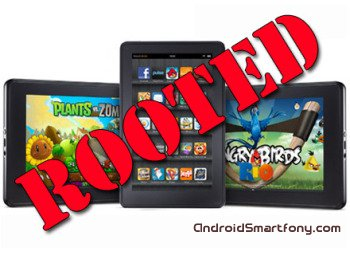 Получение root-прав на Amazon Kindle Fire и установка TWRP Recovery