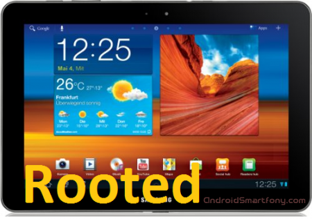 ��������� root-���� �� Samsung Galaxy Tab 10.1 3G GT-P7500 � ��������� ClockworkMod Recovery