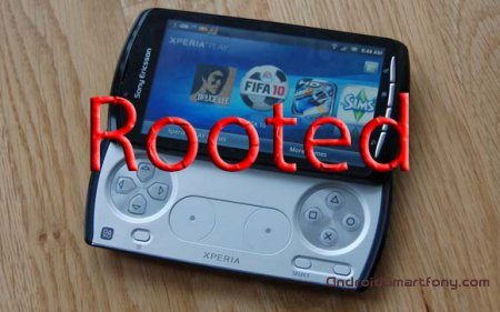 ��� �������� root-����� �� Sony Xperia Play
