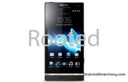 ��� �������� root-����� �� Sony Xperia S
