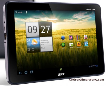 Прошивка Acer ICONIA TAB A200