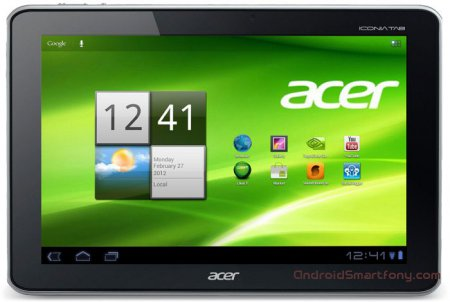 Планшеты Iconia Tab A701 и Iconia Tab A700 от Acer