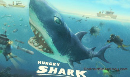 Hungry Shark - голодная акула на Андроид