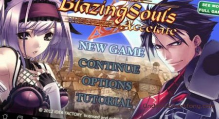 RPG Blazing Souls Accelate - классическая RPG на Андроид