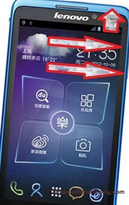 Hard reset Lenovo IdeaPhone S890 - снять графический ключ, сбросить настройки до заводских