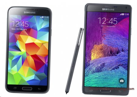 Samsung Galaxy S5 vs Samsung Galaxy Note 4 - ������������� ��������������
