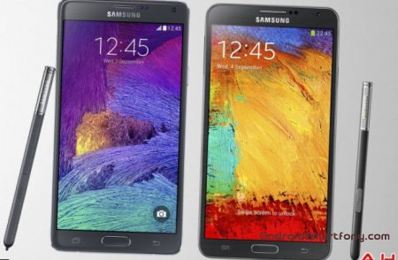 Samsung Galaxy Note 4 vs Note 3 - ����� �� ���������� ���������� Note 3?