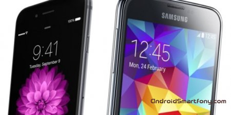 iPhone 6 vs Samsung Galaxy S5: что круче?