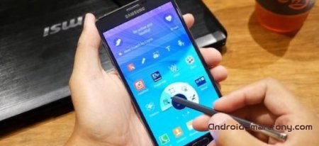 Стилус S Pen в Samsung Galaxy Note 4