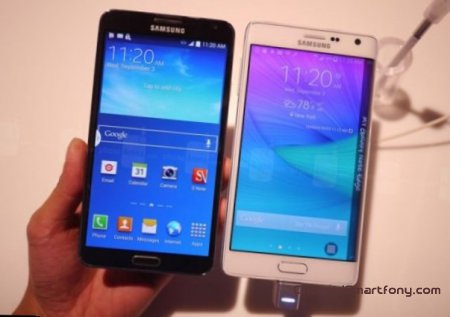 Сравнение  Samsung Galaxy Note Edge vs Galaxy Note 3