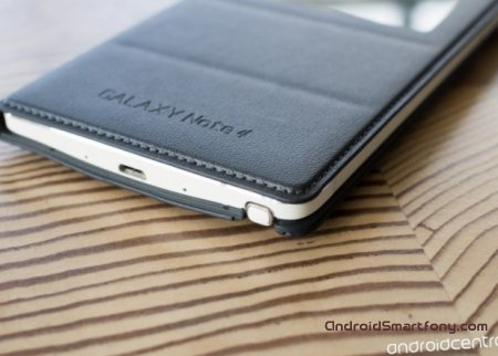 Чехол Samsung S-View Flip Cover для Galaxy Note 4