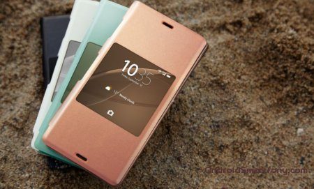 ��������� � �������� Sony Xperia Z3 - �����-����� Style Cover SCR24