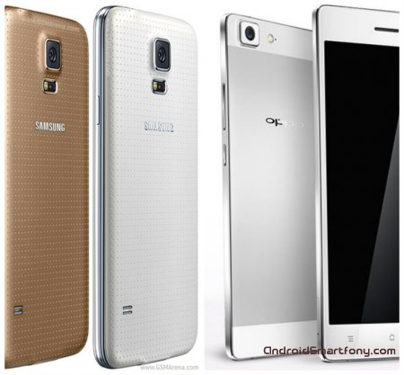 Сравнение Oppo R5 vs Samsung Galaxy S5
