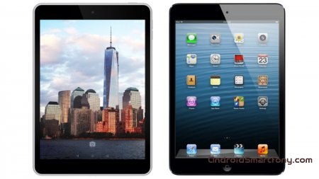 Nokia N1 vs iPad mini 3 vs Sony Xperia Z3 Tablet Compact, Android или iOS