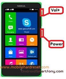 Hard reset Nokia XL Dual - сброс настроек и графического ключа