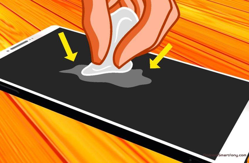 Как убрать царапины с корпуса ноутбука - a0b84