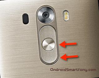 Hard reset LG G3 - сброс настроек, пароля, графического ключа