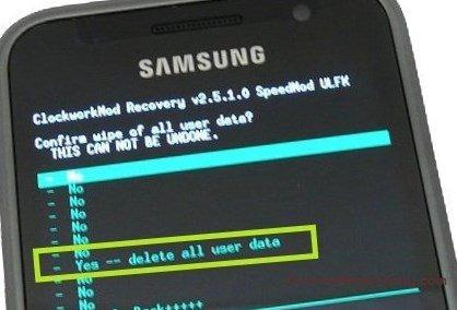 Hard reset Samsung Galaxy A3 - сброс настроек, пароля, графического ключа