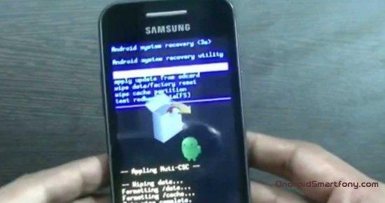 Как сделать сброс смартфона samsung