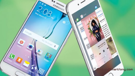 ���������: iPhone 6s vs Galaxy S6
