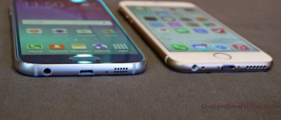 Samsung Galaxy S6 vs iPhone 6s - почему Samsung лучше