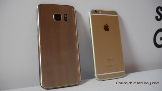 10 ������, ������ Samsung Galaxy S7 ����� iPhone 6s
