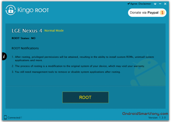 Kingo Android ROOT на пк
