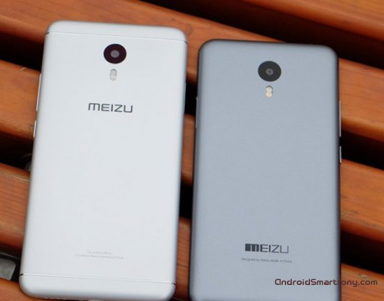Meizu M3 Note vs Meizu M2 Note фото 2