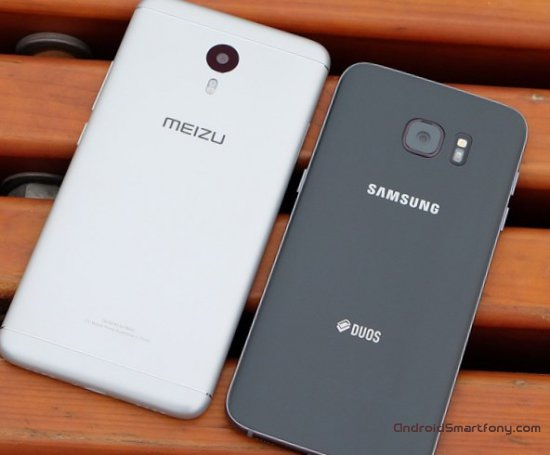 Meizu M3 Note vs Galaxy S7 фото
