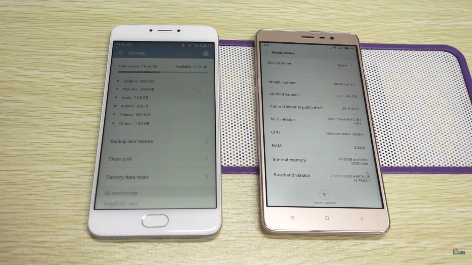 Meizu m3 note vs redmi note 3