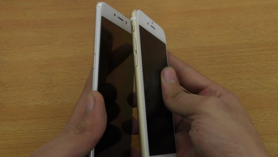 Oppo F1 Plus vs iPhone 6S фото 3