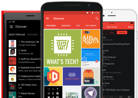 Pocket Casts для android