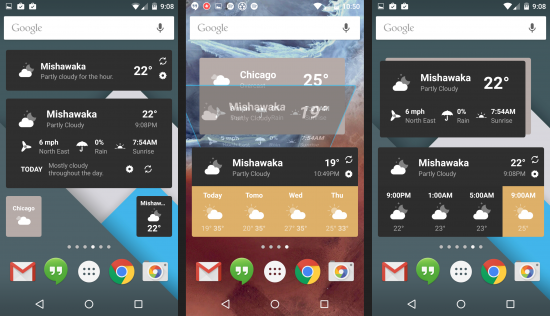 Weather Timeline для android