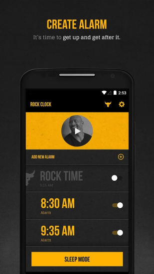 The Rock Clock для android