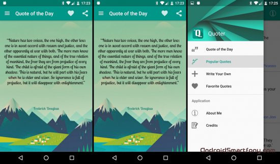 Quoter для Android