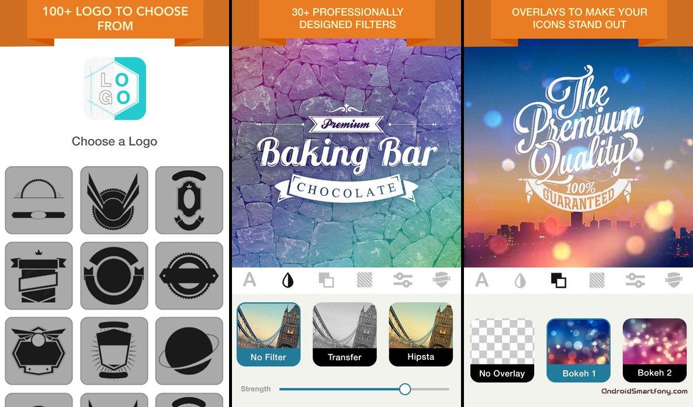 App for designing logos