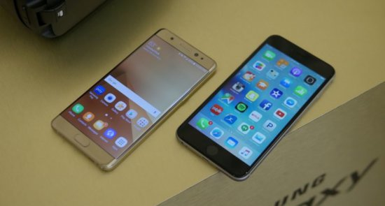 ���������: Samsung Galaxy Note 7 vs iPhone 6s Plus