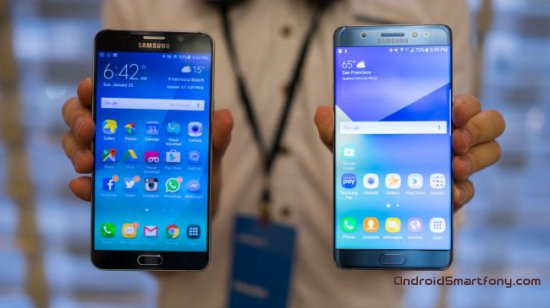 Samsung Galaxy Note 7 vs Note 5 фото 1