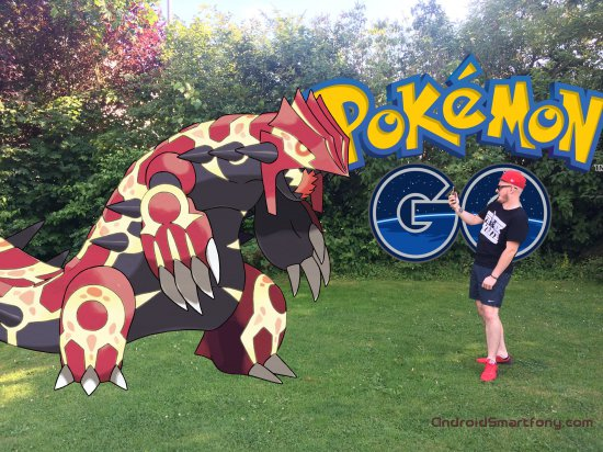 гроудон в pokemon go