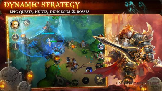 5 игр в стиле League of Legends на Android и iOS