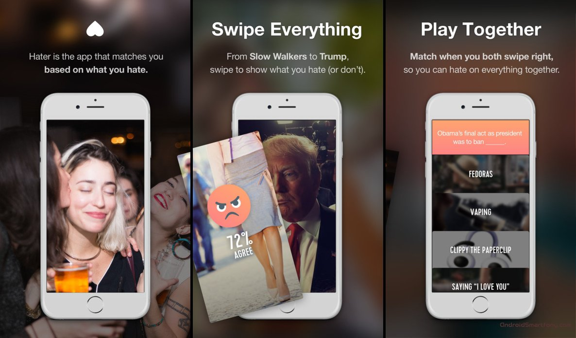 swipe dating app android Build tinder app using android swipe cards hello guys in this tutorial, we will learn how to make a tinder app using android swipe cards here a user can swipe left or right according to his requirement as like or dislike and a new pic will appear after swiping just like happen in tinder app [.