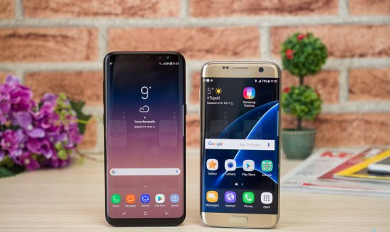 Сравнительный обзор Samsung Galaxy S8 Plus vs Galaxy S7 Edge - битва поколений