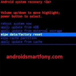 Micromax factory reset